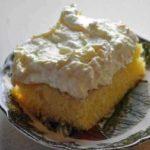 yellow cake icing