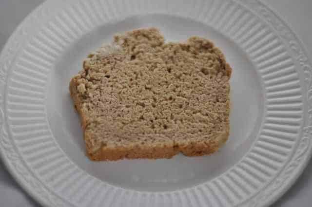 slice of beer bread