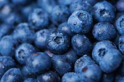 blueberries for pie