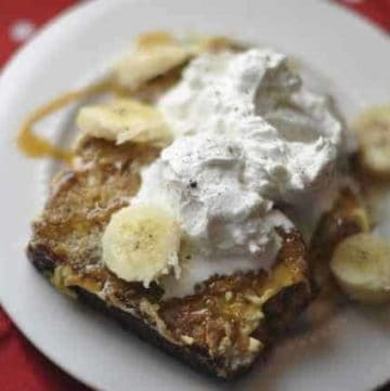 Make the IHOP Banana Bread French Toast at home.
