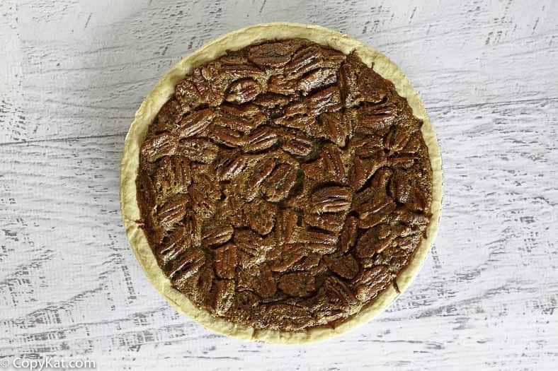 You can recreate this famous Cracker Barrel Chocolate Pecan pie at home.
