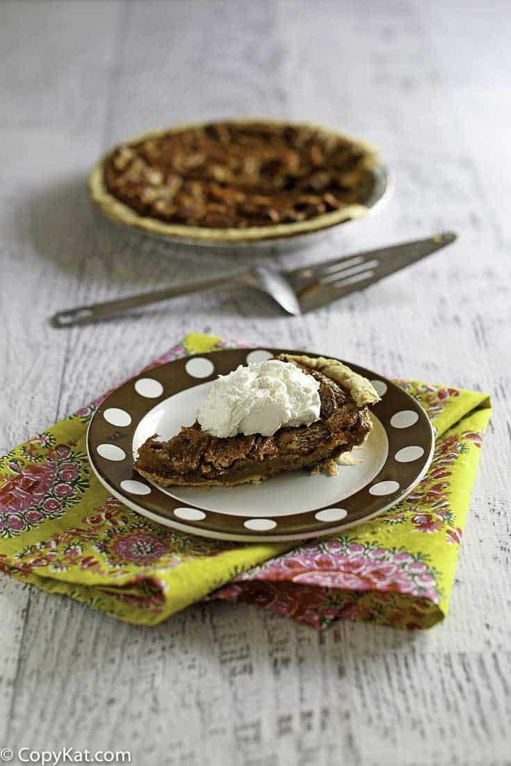 Make a Chocolate Pecan Pie just like the Cracker Barrel does. This is a seasonal menu item you can make all year around.