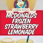 frozen lemonade photo collage