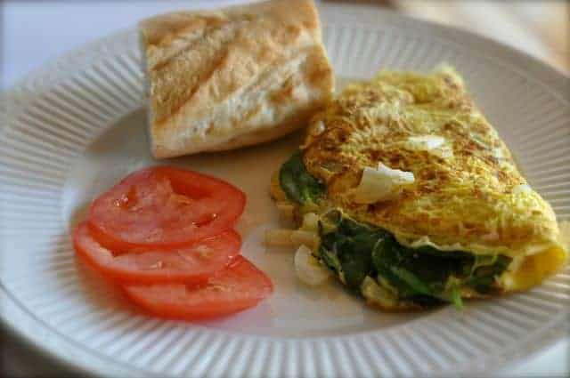 La Madeleine Smart Choice Omelette with Weight Watcher Points