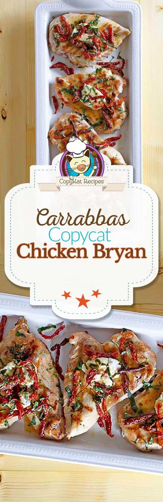 You can prepare Carrabbas Chicken Bryan just like Carrabbas with this easy copycat recipe.