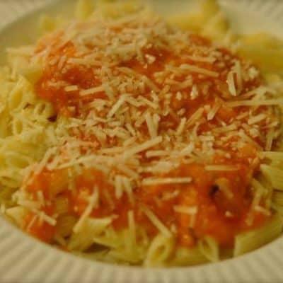 tomato pasta sauce