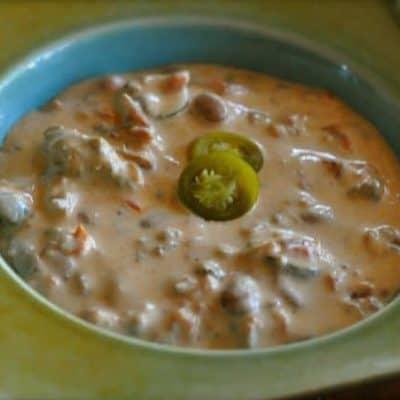 creamy taco dip