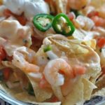 nachos with shrimp