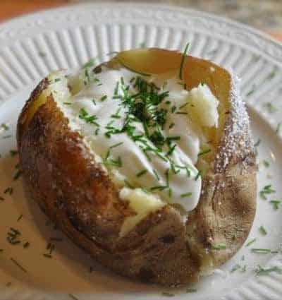 outback steakhouse baked potato with salt crust