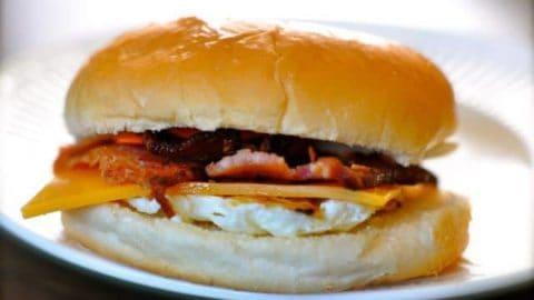Whataburger Breakfast On A Bun
