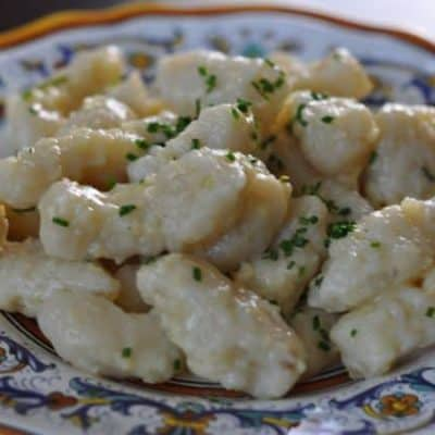 You can make delicious potato gnocchi.