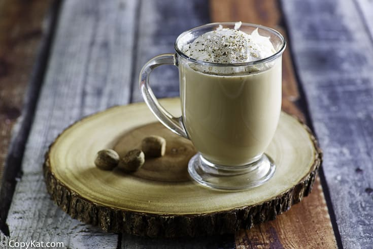 Make your own Starbucks Egg Nog Latte, it's so easy to make one at home.