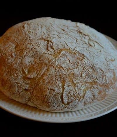 bread with crispy crust