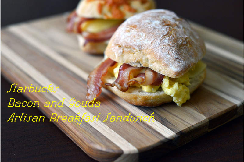 Starbucks bacon gouda sandwich