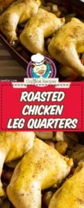 chicken leg quarters baked in the oven