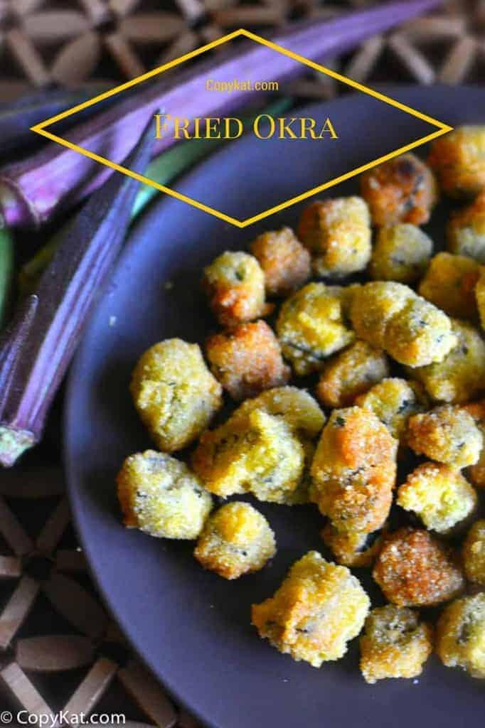 How to Make Fried Okra from CopyKat.com