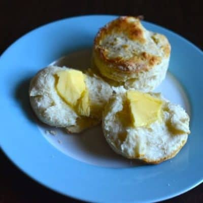 freezer biscuits with butter