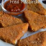 Olive Garden Fried mozzarella from CopyKat.com