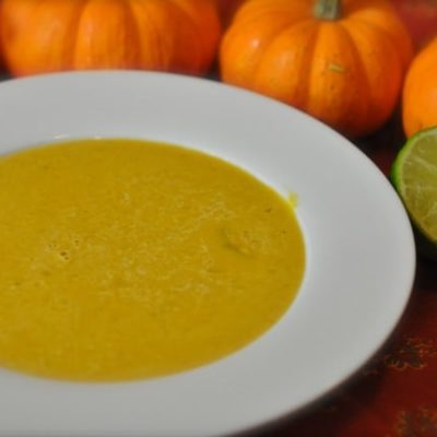 pumpkin soup with curry