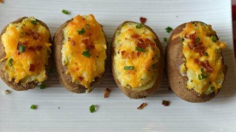 Easy Oven Baked Twice Baked Potatoes