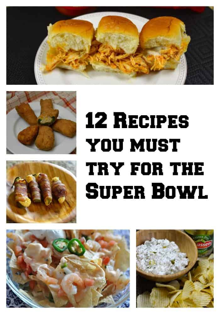 12 Super Bowl Recipes You Must Try