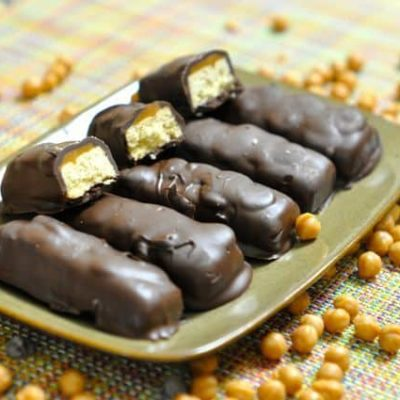 how to make a twix bar