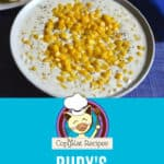 Homemade copycat Rudy's creamed corn in a bowl.