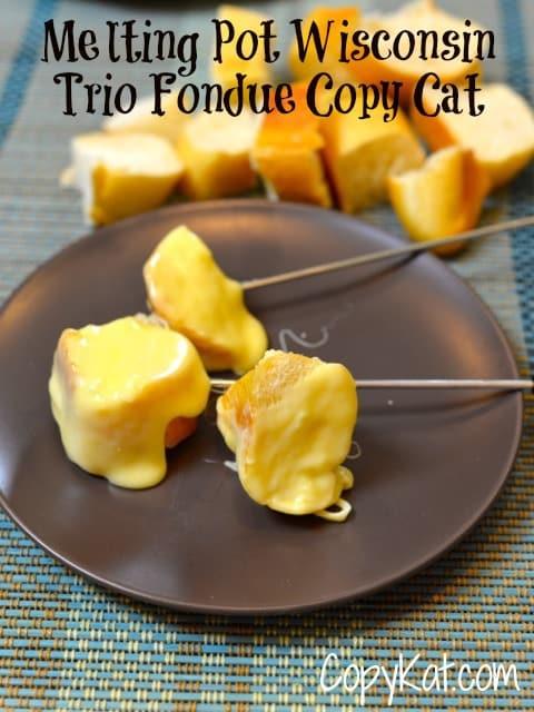 melting pot Wisconsin trio recipe