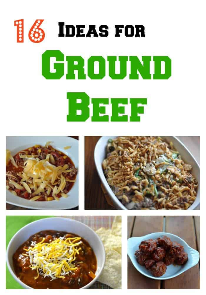 recipes for ground beef