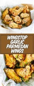 garlic parmesan wing recipe