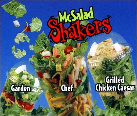 McDonald's Salad Shakers