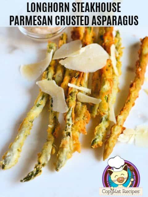 parmesan crusted asparagus