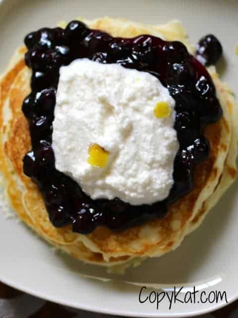 ihop blueberry pancake