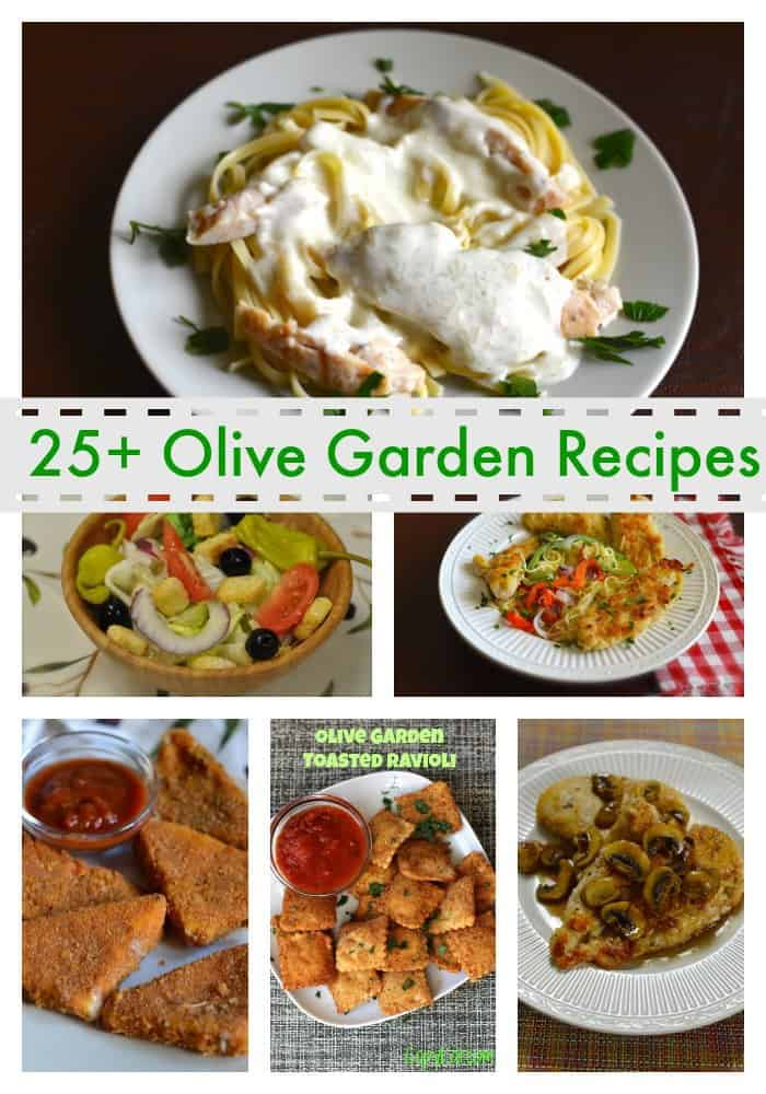 Favorite Olive Garden Recipes