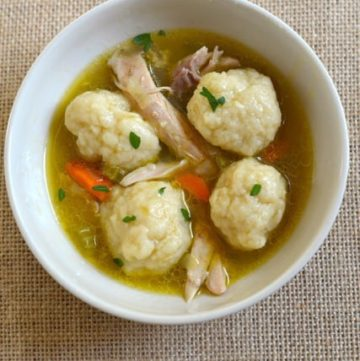 Homemade Chicken and Dumplings Recipe from CopyKat.com