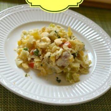 Creamy Chicken Noodle Casserole from CopyKat.com