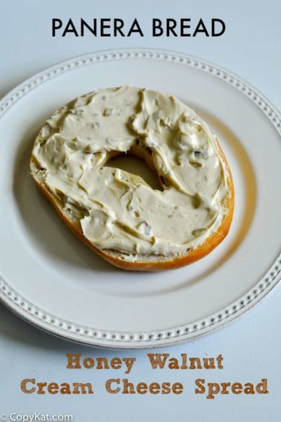 Panera Bread honey walnut cream cheese from CopyKat.com