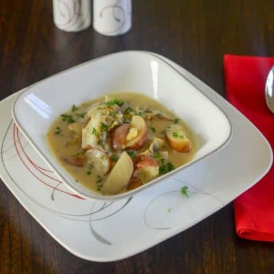 Prepare this quick and tasty clam chowder recipe from CopyKat.com