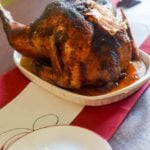 Learn how to deep fry a turkey indoors from CopyKat.com