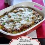 Baked Spaghetti Casserole from CopyKat.com