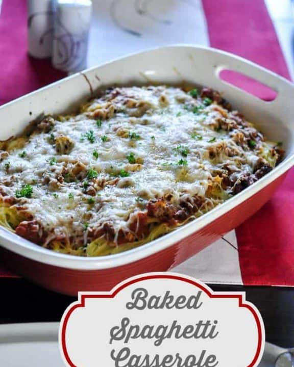 Baked Spaghetti Casserole from CopyKat.com