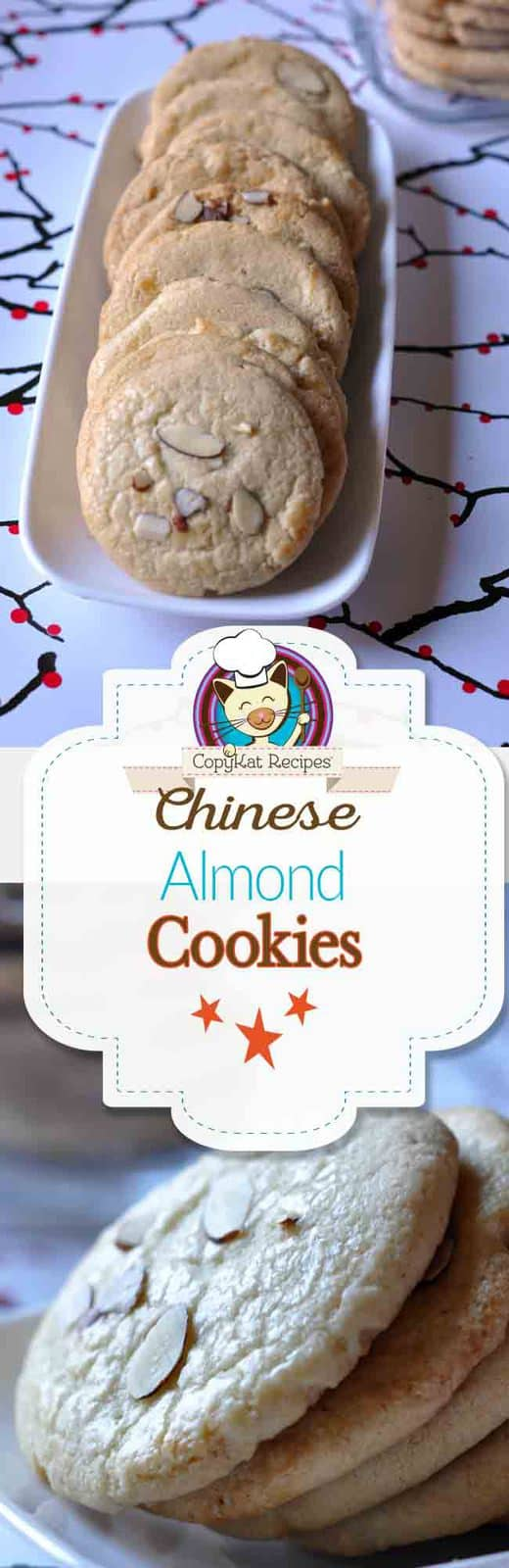 Make your own delicious Chinese Almond Cookies with this recipe from CopyKat.com.