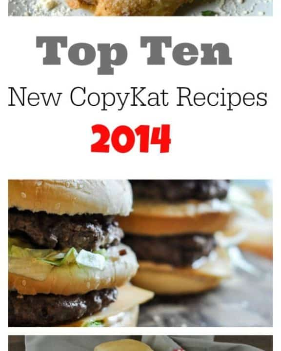 Top Ten new CopyKat Recipes 2014