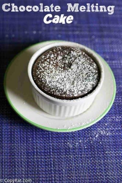 Carnival Cruise Chocolate Melting Cake