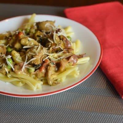 turkey pasta delight finished