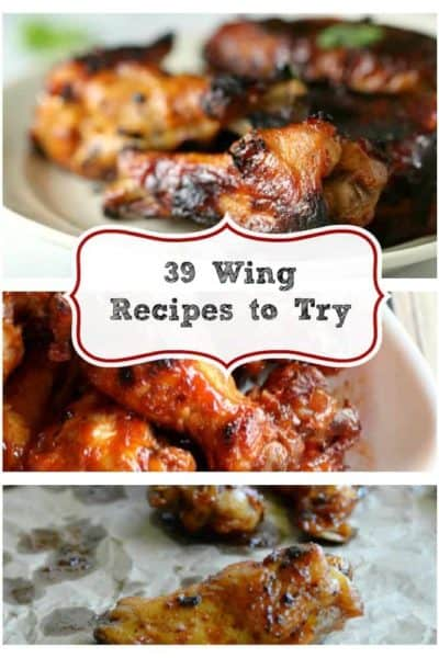 39 Wings to Try from CopyKat.com perfect for #gameday
