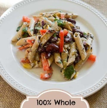 Sweet tomatoes whole wheat pasta salad from CopyKat.com
