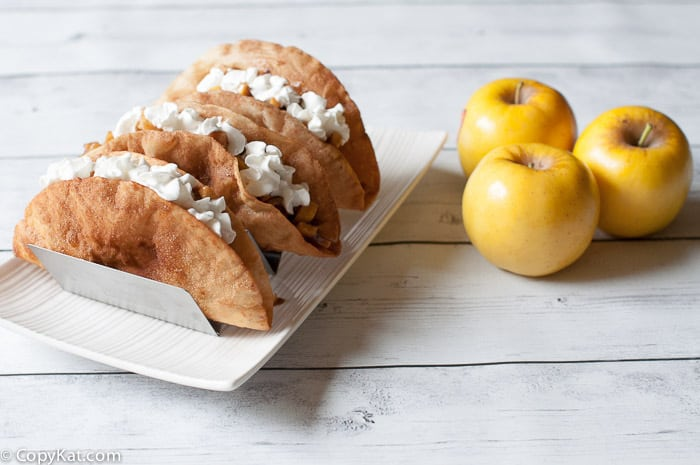 Opal Apple Pie Tacos from CopyKat.com