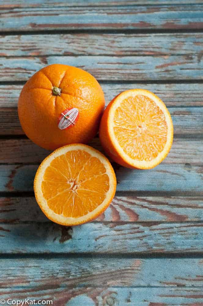 Heritage Reserve Oranges