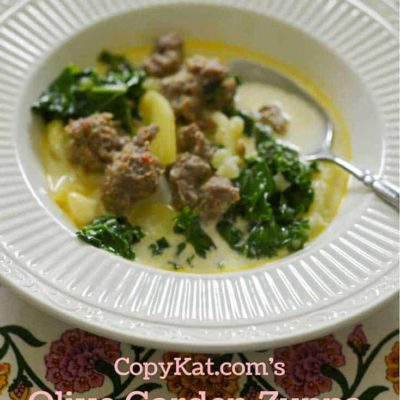Make the Olive Garden Zuppa Toscana in your slow cooker with this recipe from CopyKat.com